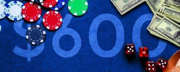 Бонус $600 от рума 888poker