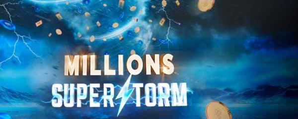 Millions Superstorm на 888poker в 2020 г.