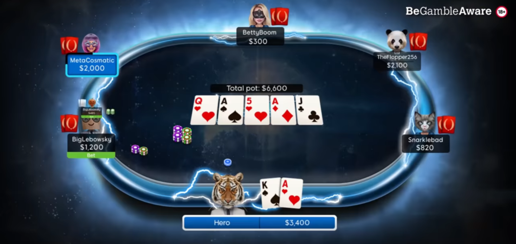 игра в покер на новом клиенте poker8