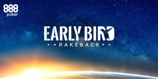 Акция Early Bird Rakeback