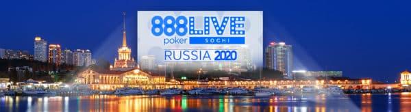 888pokerLIVE Sochi Weekend 2020