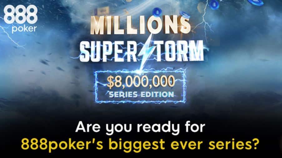Главное событие турнира Millions Superstorm